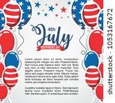 united states of america... | Shutterstock .eps vector #1053167672