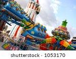 fairground  brighton pier  uk | Shutterstock . vector #1053170