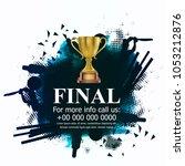 cricket championship   cricket   | Shutterstock .eps vector #1053212876