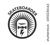skate logo vector wheel template