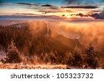 Great Winter Sunset Landscape...