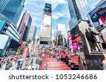 new york city  usa   october 28 ... | Shutterstock . vector #1053246686