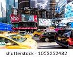 new york city  usa   october 28 ... | Shutterstock . vector #1053252482