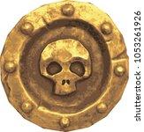 golden coin. vector...