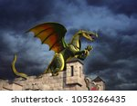 Green Dragons On The Castle A...