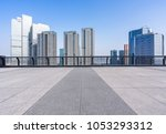 empty floor or square with... | Shutterstock . vector #1053293312