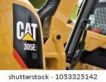 kaunas  lithuania   march 23 ... | Shutterstock . vector #1053325142