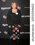 los angeles   mar 23   roseanne ...   Shutterstock . vector #1053354602