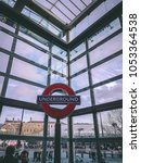 december 28th  2017  london ... | Shutterstock . vector #1053364538
