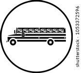 school bus symbol   Shutterstock .eps vector #1053372596