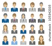 people | Shutterstock .eps vector #105342035