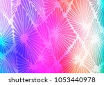light multicolor  rainbow... | Shutterstock .eps vector #1053440978