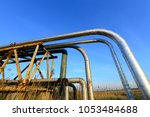 oil pipes  outdoors | Shutterstock . vector #1053484688