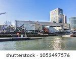 rotterdam  the netherlands  ... | Shutterstock . vector #1053497576
