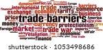trade barriers word cloud...   Shutterstock .eps vector #1053498686