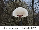 basket ball goal in park | Shutterstock . vector #1053507062