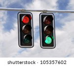 Red And Green Traffic Lights...