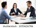 business people working... | Shutterstock . vector #1053626786