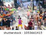 bangkok  thailand   april 13 ... | Shutterstock . vector #1053661415