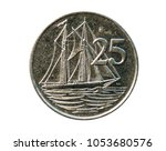 25 Cents Coin  Two Masted...