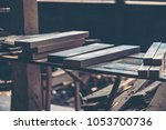 background image of woodworking ... | Shutterstock . vector #1053700736