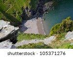 The View Of The Devon Coastlin...