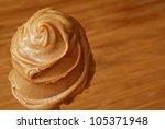 Creamy Swirls Of Peanut Butter...