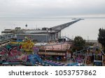 southend on sea  essex  england ... | Shutterstock . vector #1053757862