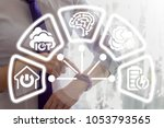 smart watch information... | Shutterstock . vector #1053793565