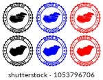 made in hungary   rubber stamp  ...   Shutterstock .eps vector #1053796706