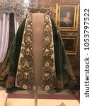 dressed as napoleon bonaparte... | Shutterstock . vector #1053797522