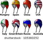 water polo draw women | Shutterstock .eps vector #105383252