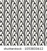 vector floral seamless pattern. ... | Shutterstock .eps vector #1053833612