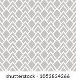 seamless abstract art deco... | Shutterstock .eps vector #1053834266