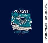 shoes skate illustration | Shutterstock .eps vector #1053864842