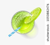 vector illustration. a glass of ... | Shutterstock .eps vector #1053882476