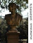 eighteenth century statues in... | Shutterstock . vector #1053959576