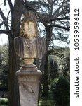 eighteenth century statues in... | Shutterstock . vector #1053959612