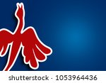 bird pattern background | Shutterstock . vector #1053964436