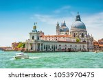venice in summer  italy. grand... | Shutterstock . vector #1053970475