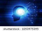 artificial intelligence. ai... | Shutterstock .eps vector #1053975395