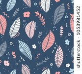 design of a seamless pattern... | Shutterstock .eps vector #1053981452