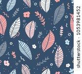 design of a seamless pattern...   Shutterstock .eps vector #1053981452