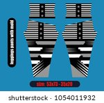 leggings pants fashion... | Shutterstock .eps vector #1054011932