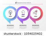 infographic design template.... | Shutterstock .eps vector #1054025402