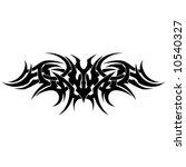 tribal tattoo armband | Shutterstock .eps vector #10540327
