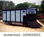 Small photo of Venice, Poland - June, 2001: narrow-gauge railway, Railway Museum