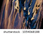 abstract acrylic creative... | Shutterstock . vector #1054068188