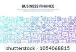 business finance web concept.... | Shutterstock .eps vector #1054068815