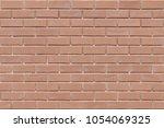 brick texture seamless pattern... | Shutterstock . vector #1054069325